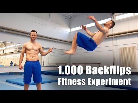 1000 Backflips Challenge - Fitness Experiment
