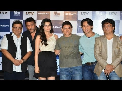 Aamir Khan At The First Look Promo Launch Of Herop
