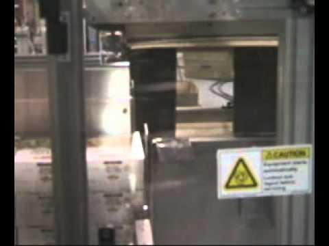 CHL Upstacker for Chipboard Cartons Pretzels Side Load Case Packer