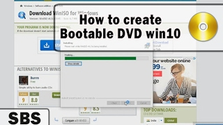 Links required to make windows 10 bootable DVD.Download windows 10 ISO file : https://www.microsoft.com/en-in/software-download/windows10Win ISO path : https://winiso6.en.softonic.com/Bootable DVD video Link : https://youtu.be/vyX8viDQ0zYBelow are the steps to make a DVD bootable.Step 1. Download WIn ISO tool from the Link given above.Step 2. Install Win ISO tool.Step 3. Insert a blank DVD to your computer, having at least 4GB of free space.Step 4: Use Win ISO tool to create a windows 7/8/10 bootable DVD.Burn ISO to DVD.Bootable DVD windows 10.Bootable DVD windows 7.Bootable DVD windows 8.