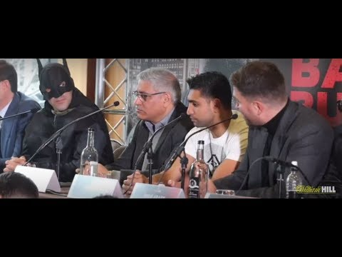BEEF!!! AMIR KHAN v PHIL LO GRECO - (FULL & COMPLETE) OFFICIAL PRESS CONFERENCE W/ EDDIE HEARN
