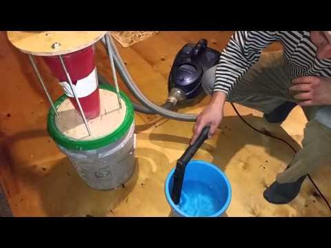 Как сделать промышленный пылесос из обычного