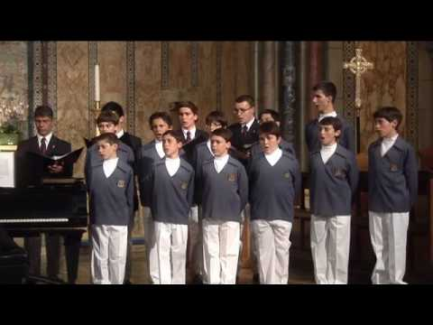 Monaco Boys Choir Perform in New York City