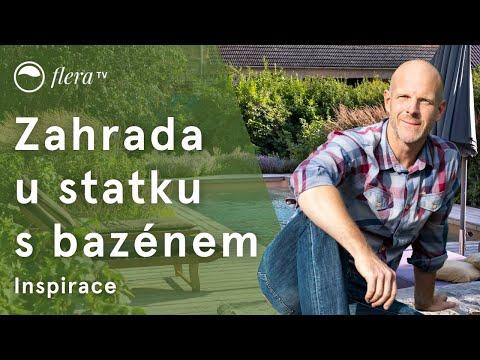 Zahrada u statku s bazénem | Inspirativní zahrada | Flera TV