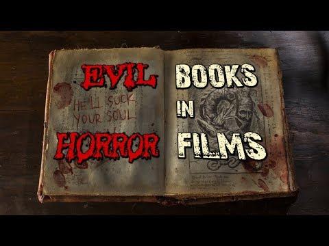 50 Evil Books in 70 Horror Films