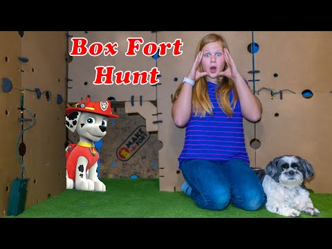 Assistants Giant Box Fort Hunt for Paw Patrol Adventure Bay Playset