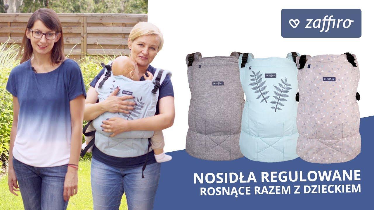 Nosidła regulowane, rosnące razem z dzieckiem - Zaffiro Smart