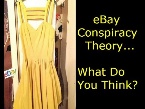 eBay News: Naked Woman Asos Yellow Skater Dress Conspiracy Theory – What Do You Think?