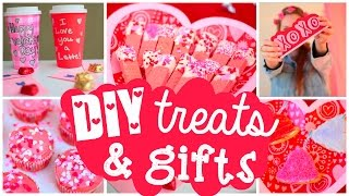 DIY Valentine's Day Treats & Gifts ♡ Cute Easy Ideas! - YouTube