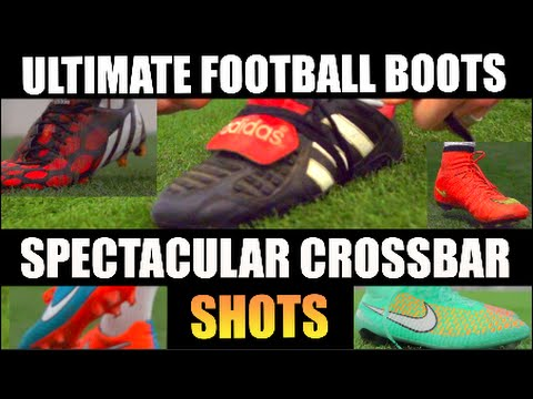 boot - Never before in the history of YouTube has such an incredible array of football boots been showcased in one clip in such spectacular fashion! From the brand new Nike Gala CR7 to the original...