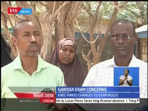 News Desk: Garissa KNUT officials are asking the KNEC to provide helicopters to ferry exams