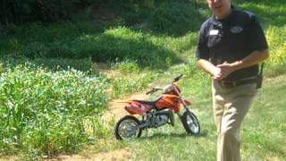 7. 2006 KTM 50 Mini Adventure