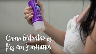 Fica a Dica – Como hidratar os fios em 3 minutos