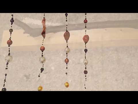 Windspiel bauen Anleitung - Do it yourself (Perlen, Ast) Shabby Chic (Zeitraffer)