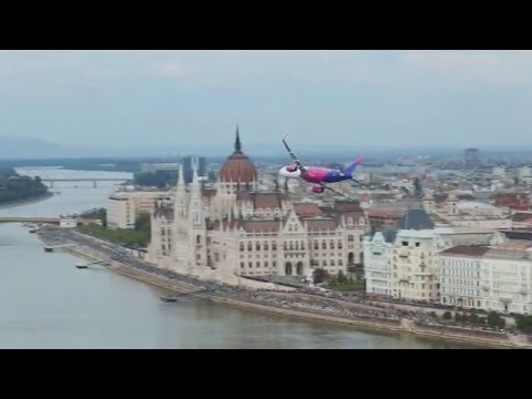 Самолет Wizz Air совершил низкий полет над центром Будапешта - Центр транспортных стратегий