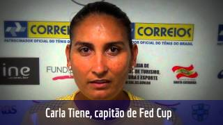 Carla Tiene analisa primeira edição do Brasil Tennis Cup
