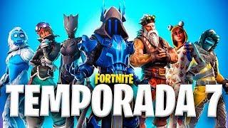 JUGANDO LA TEMPORADA 7 DE FORTNITE - TheGrefg