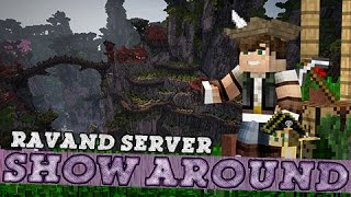 Minecraft Show-around: Epic Plots on Ravand Server! #2