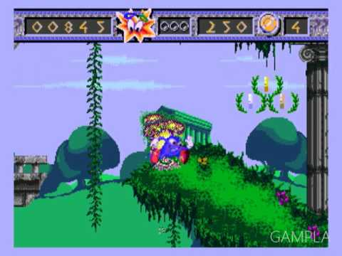 Izzy's Quest for the Olympic Rings SEGA Genesis