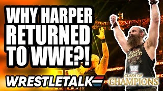 Why Luke Harper RETURNED To WWE?! WWE Clash Of Champions 2019 Review! | WrestleTalk