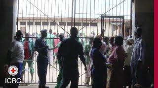 Prison visits are core to the ICRC mandate. Detention delegate Vincent Ballon shows us around Bujumbura prison in Burundi and...