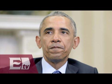Conmovedor mensaje de Obama por la regulación de armas en EU
