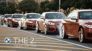 BMW M235i Takes Up Synchronised Sliding In South Africa: Video