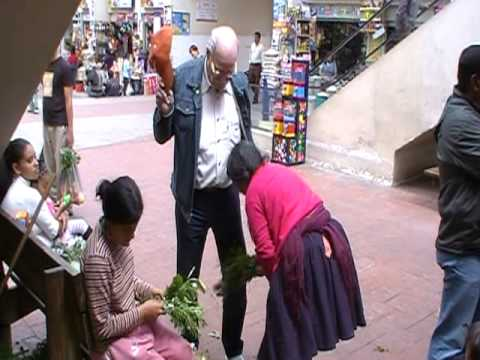 limpieza - My dad got a shamanic 'limpieza'--a cleansing--at the 10 de Agosto market in Cuenca during his visit to Ecuador this summer, complete with the herb, egg, and...