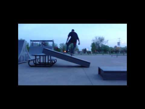 Davenport Skatepark Break Board part 1 Promo.