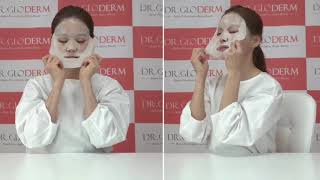video thumbnail DR.GLODERM TABRX Liftup Mask (5 pieces) youtube
