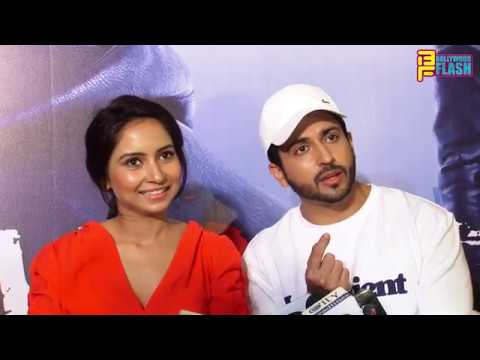 Dheeraj Dhoopar & Wife Vinny Arora At Manit Joura's Movie Falsafa Trailer Launch