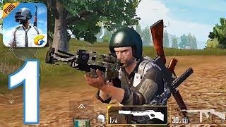 PUBG Mobile - Gameplay Walkthrough Part 1 - 4th Place (iOS, Android)
