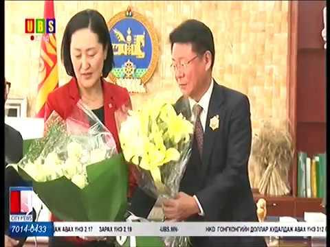 Азийн хүүхэд залуучуудын нийгэмлэгийн ерөнхийлөгчид төрийн дээд шагнал гардууллаа