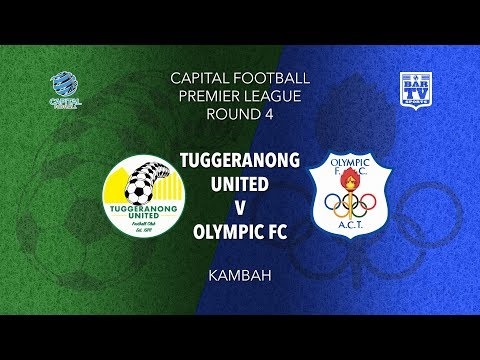 2019 Capital Football Premier League - U20's and 1st Grade Round 4 - Tuggeranong v Canberra Olympic