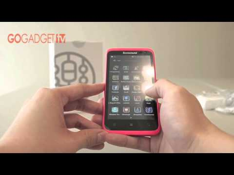 Lenovo ideaphone S720 Unboxing