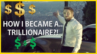"""No not millionaire, not billionaire, but TRILLIONAIRE! I, Tom Peterman, share my secrets about making money and becoming successful! Easy tips to become rich and famous! An easy guide on HOW TO BECOME A MILLIONAIRE, BILLIONAIRE, Or if your like me, TRILLIONAIRE! MAKE MONEY FAST!! (GONE WRONG) NOT A SCAM! COUGH.. TAI LOPEZ.... Nah were just kidding man. But for real, share some of that dough.#FreePeterman    - Trend itDid you enjoy watching this video??  WRECK THAT SUBSCRIBE BUTTON THEN!- http://bit.ly/1fea3eCWe decided to make a comedy skit based around Tai Lopez's 67 secrets to success.. A """"Spoof"""" if you will. We got our very good friend JEFF SNYDER to play the role of local trillionaire Tom Peterman. He did a good job didn't he? Almost comes too naturally for him.. Special thanks to him and his brother for playing the parts, and thanks to Louis for the beautiful view of green mountain. Anyways, just so everyone knows, we have nothing against Tai Lopez or his """"Tips/Secrets"""" in any way. We just thought it'd be funny! If you ever see this, no hard feelings man.THE NEXT FEW WEEKS ARE GOING TO BE PACKED WITH FILMING! SO PLEASE STAY TUNED, SUBSCRIBE, AND TURN ON NOTIFICATIONS!Check out our previous video!- https://www.youtube.com/watch?v=mrwbBVJKQyYWATCH OUR GTA 6 FAN MADE GUN GAME IN REAL LIFE:- http://bit.ly/2kGyRSf--Our POST APOCALYPTIC ZOMBIE Web-Series """"PATHOGEN"""": --http://bit.ly/PathogenEP1-- CHECK US OUT ON SOCIAL MEDIA!!:OUR FACEBOOK-http://on.fb.me/MB5wqDOUR INSTAGRAM-@wartorn_productionsStay Awesome, and have a blessed week, and FOLLOW THESE STEPS TO BECOMING A TRILLIONAIRE LIKE OUR GOOD FRIEND TOM PETERMAN!Music from Epidemic Sound (http://www.epidemicsound.com)"""