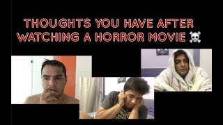Video Thoughts you have after watching a HORROR MOVIE MP3, 3GP, MP4, WEBM, AVI, FLV Juli 2018