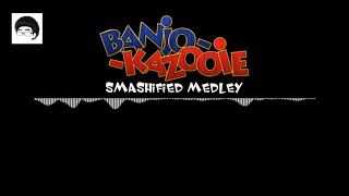 This person's adaptation of a Banjo Kazooie soundtrack Smashified is beautiful. It's a long shot in the character ballot, but nothing else would make me happier to see the Bear and the Bird in Smash.