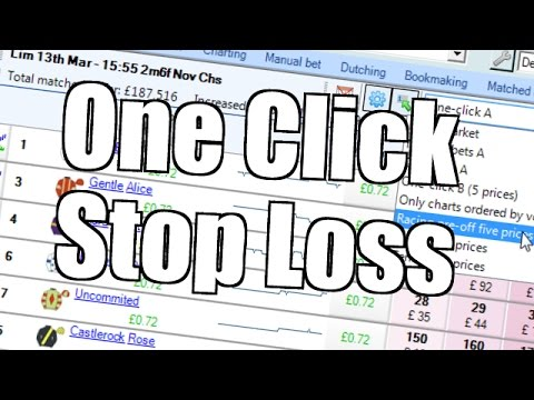 Bet Angel – One click stop loss