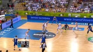 Play of the Game J. Taylor FIN-SWE EuroBasket 2013