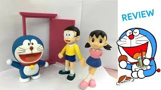 GRV Doraemon Standing, Nobita Hi!, Sizuka Action Figures Unboxing