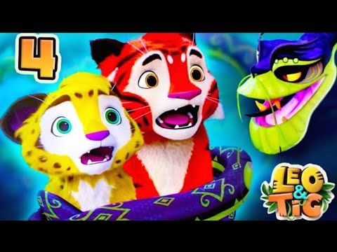 Leo and Tig - Autumn in Taiga - Episode 3 - Funny Family Good Animated Cartoon for Kids