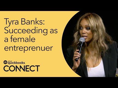 QuickBooks Connect 2017: Tyra Banks, Entrepreneur & Executive Producer