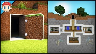 Video Minecraft: How to Build a Secret Base Tutorial (#2) - Easy Hidden House MP3, 3GP, MP4, WEBM, AVI, FLV September 2018