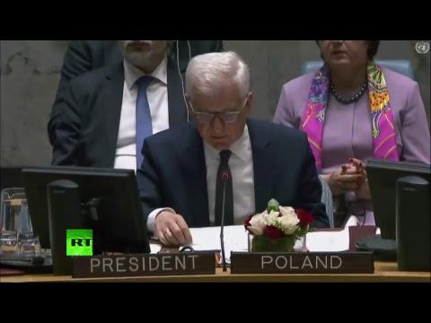 Заседание Совбеза ООН по Украине - DomaVideo.Ru