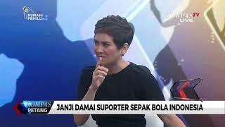 Video Janji Damai Suporter Sepak Bola Indonesia (Bag. 2) MP3, 3GP, MP4, WEBM, AVI, FLV September 2018