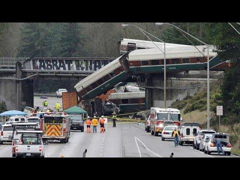 Εκτροχιασμός τρένου στο Σιάτλ -Στην ταχύτητα εστιάζουν οι έρευνες    …