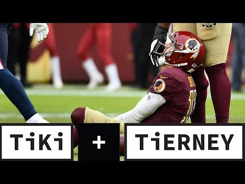 Video: Alex Smith breaks two bones in leg | Tiki + Tierney
