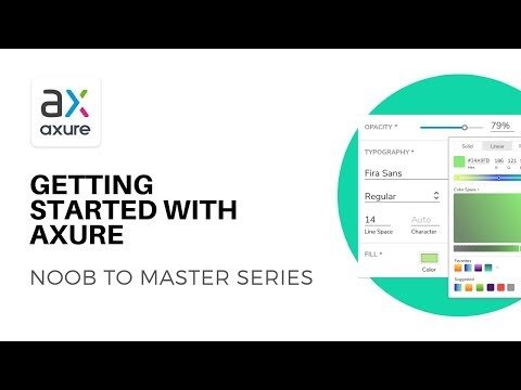 Getting started with Axure Prototyping | Axure RP: Noob to Master Ep1