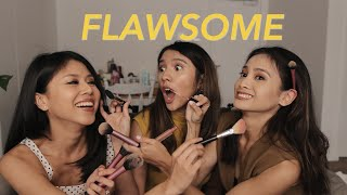 Video 15 MINS MAKEUP CHALLENGE WITH FLAWSOME MP3, 3GP, MP4, WEBM, AVI, FLV Maret 2019